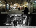 بازار قدیمی شهر ادلب، در سالهای ۲۰۰۷ و ۲۰۱۳ The Old Souk, Aleppo. Above in 2007 and below in 2013. Photograph: Corbis, Eyevine
